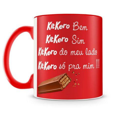 Caneca Personalizada Chocolate Kit Kat