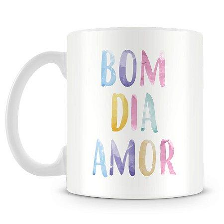 Caneca Personalizada Bom Dia Amor