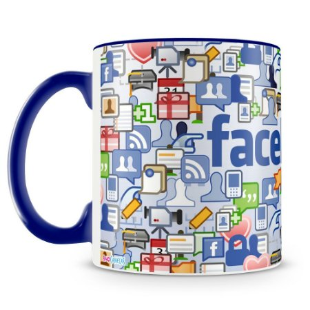 Caneca Personalizada Facebook