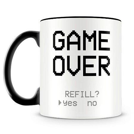 Caneca Personalizada Game Over