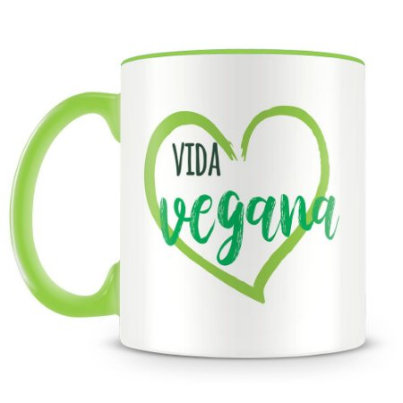 Caneca Personalizada Vida Vegana
