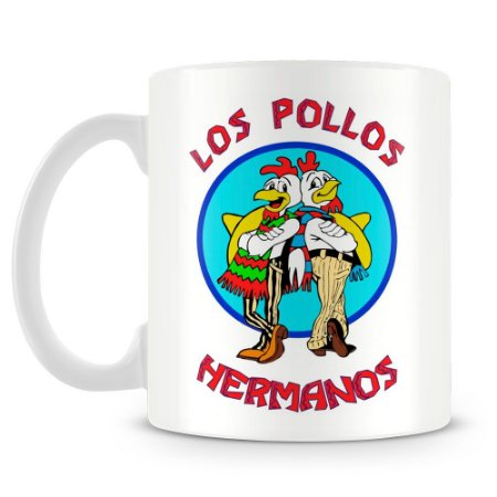 Caneca Personalizada Breaking Bad Los Pollos Hermanos