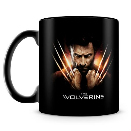 Caneca Personalizada Wolverine (100% Preta)