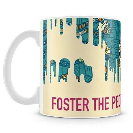Caneca Personalizada Banda Foster The People