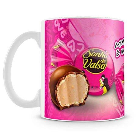 Caneca Personalizada Chocolate Sonho de Valsa