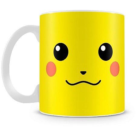 Caneca Personalizada Porcelana Pokémon Pikachu