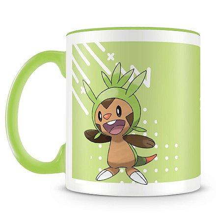 Caneca Personalizada Pokémon Chespin (Mod.2)