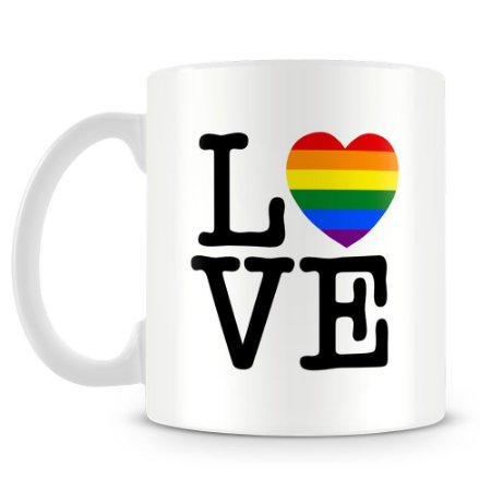 Caneca Personalizada Gay Love