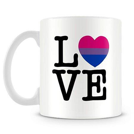 Caneca Personalizada Bi Love