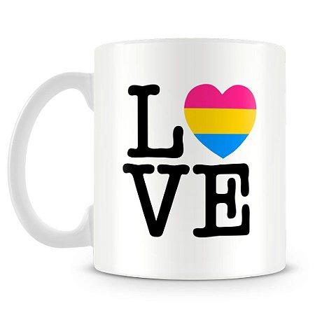 Caneca Personalizada Pan Love
