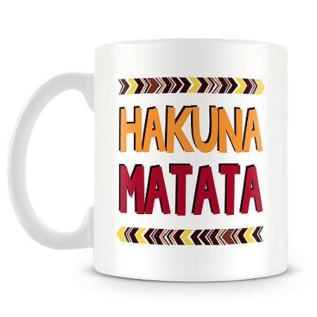 Caneca Personalizada Hakuna Matata