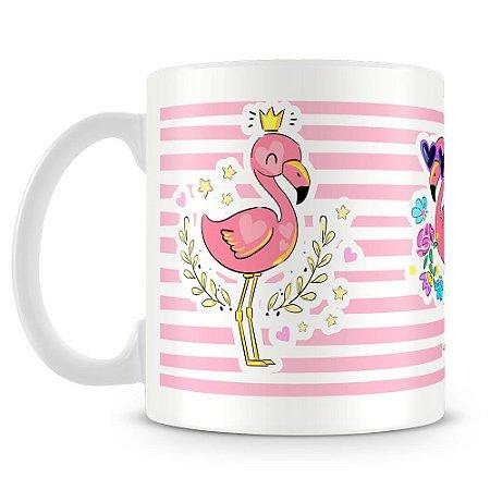 Caneca Personalizada Flamingo