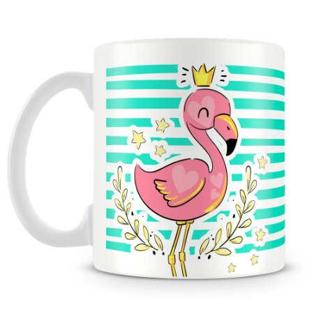 Caneca Personalizada Flamingo (Mod.2)