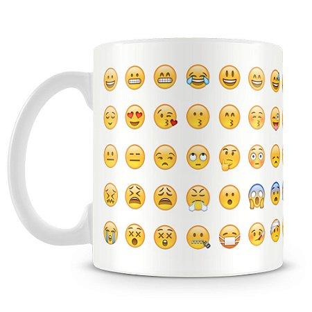 Caneca Personalizada Emoji Whatsapp