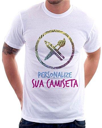 Camiseta Masculina Personalizada do seu Jeito