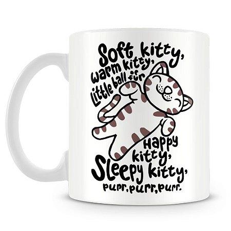 Caneca Personalizada Soft Kitty The Big Bang Theory