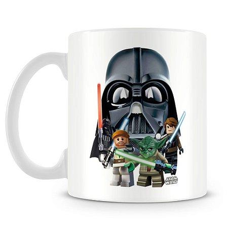 Caneca Personalizada Porcelana Darth Vader Lego