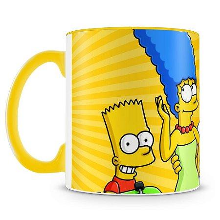 Caneca Personalizada Os Simpsons