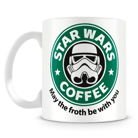 Caneca Personalizada Star Wars Coffee (Mod.1)