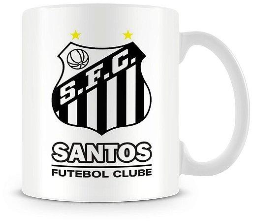 Caneca Personalizada Porcelana Santos Futebol Clube
