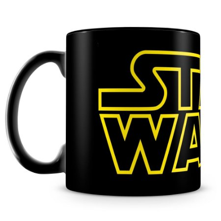 Caneca Personalizada Star Wars (100% Preta)