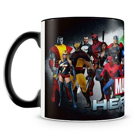 Caneca Personalizada Heróis Marvel