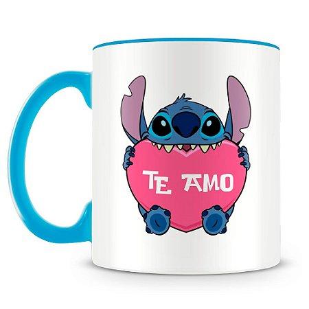 Caneca Personalizada Stitch Te Amo