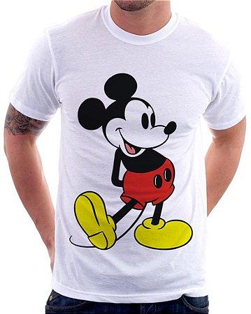 Camiseta Masculina Personalizada Estampa Mickey