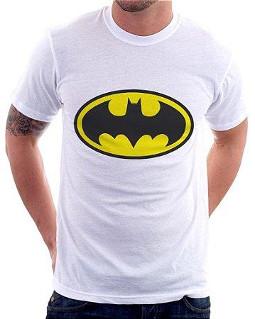 Camiseta Masculina Personalizada Estampa Batman