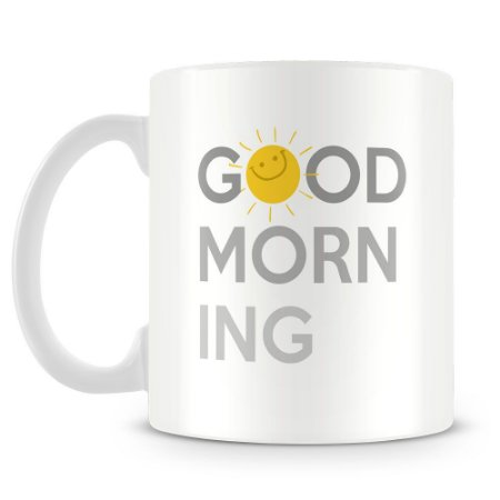 Caneca Personalizada Good Morning