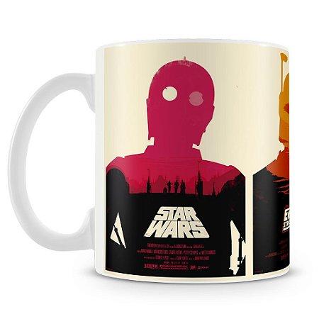 Caneca Personalizada Star Wars Trilogia