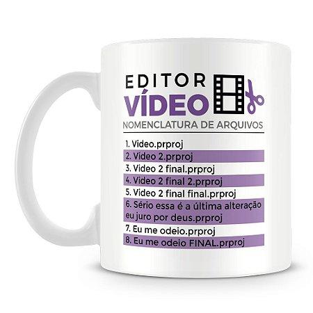 Caneca Personalizada Editor Nomenclatura de Arquivos