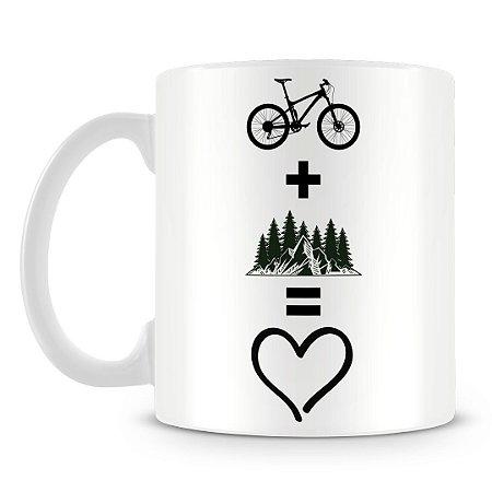 Caneca Personalizada Andar de Bike é Paixão