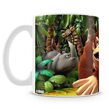 Caneca Personalizada Donkey Kong