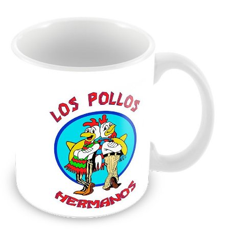 Caneca Los Pollos Hermanos - Breaking Bad