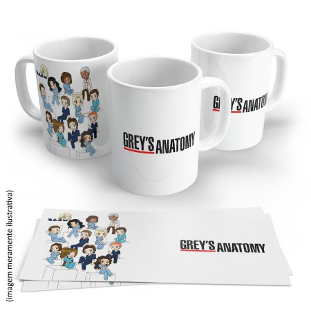 Caneca do Grey's Anatomy