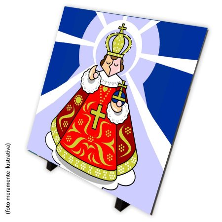 Azulejo Menino Jesus de Praga