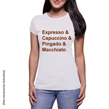 Camiseta Cafés