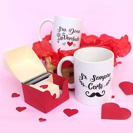 Kit Dia dos Namorados Personalizado