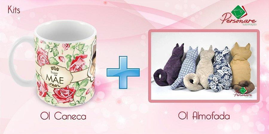Kit Personalizado - Caneca + Almofada