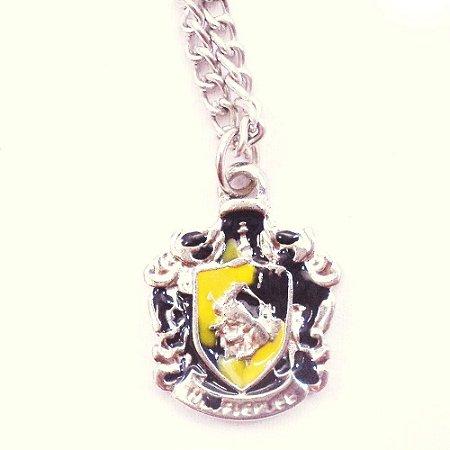 Colar Harry Potter Casa Lufa Lufa