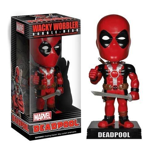 Boneco Bobble Head Deadpool