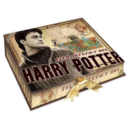 Linda Caixa Decorada e com artefatos de Harry Potter