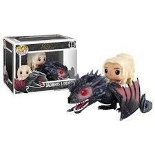 Funko Pop Game of Thrones - Daenerys e Drogon