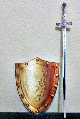 Mini Escudo Grifinória com espada
