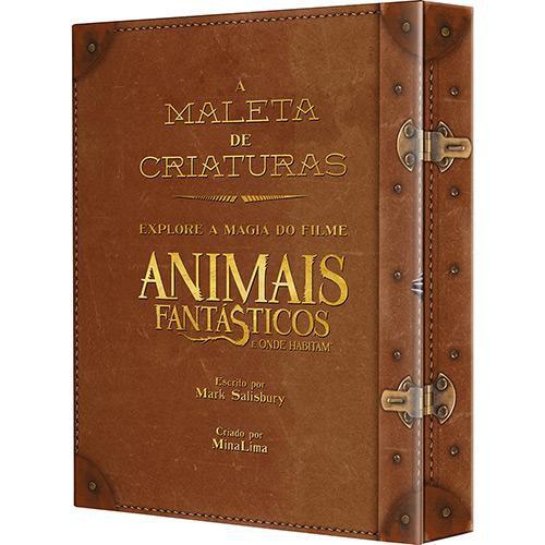 """Livro - A Maleta de Criaturas - Explore A Magia do Filme """"Animais Fantásticos e Onde Habitam"""