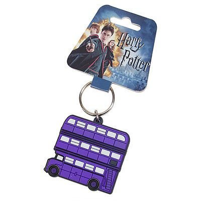 Chaveiro - Noite Bus emborrachado Harry Potter Importado