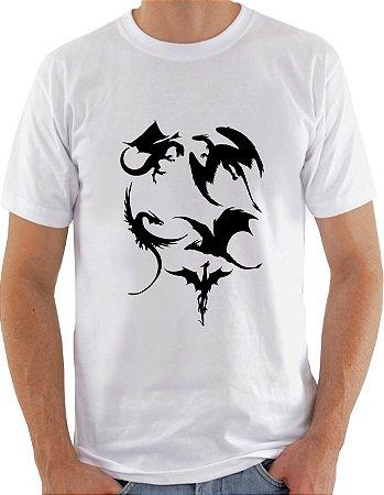 Camiseta Unisex Dragões