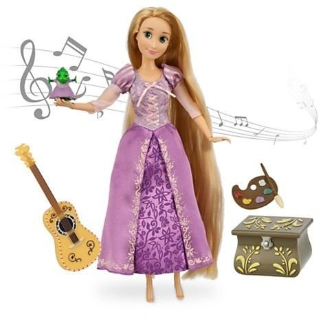 Disney Princesas Rapunzel que canta When Will My Life Begin?  Boneca 30cm