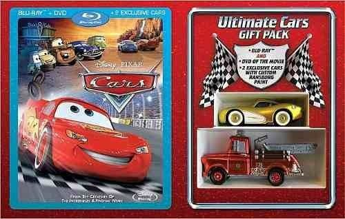 Disney / Pixar CARS Filme Exclusivo Ultimate Blu-Ray & DVD Combo